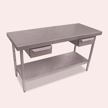 1.5m Stainless Steel Table (SS5344)