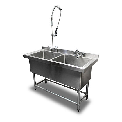 1.4m Double Stainless Steel Sink (SS539)