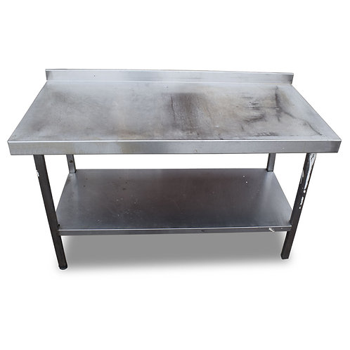 1.2m Stainless Steel Prep Table (Ref:SS435)