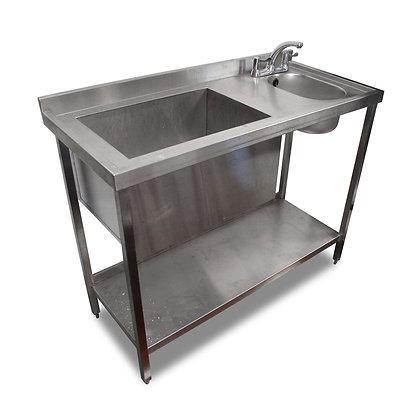1.2m Stainless Steel Basin & Handsink (SS5196)