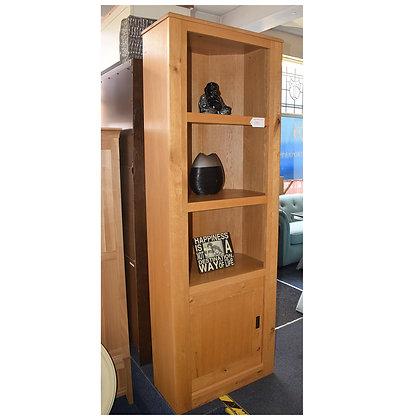 Oak Corner Display Cabinet (Ref: 718)