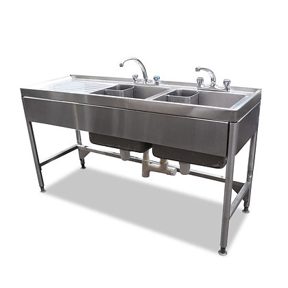 1.6m Double Sink (SS5343)