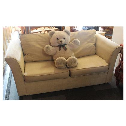 Cream Sofa Bed Ref: 338
