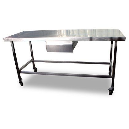 1.7m Stainless Bench with Drawer (SS5007)