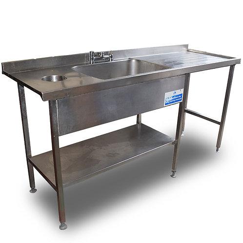 Single Sink Unit & Bin Hole Ref: SS4682