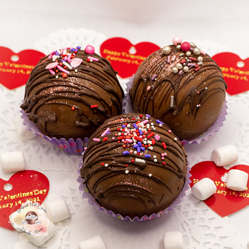Valentine's Classic Cocoa Bomb