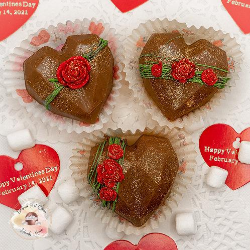 Valentine's Mini Hearts Milk Chocolate