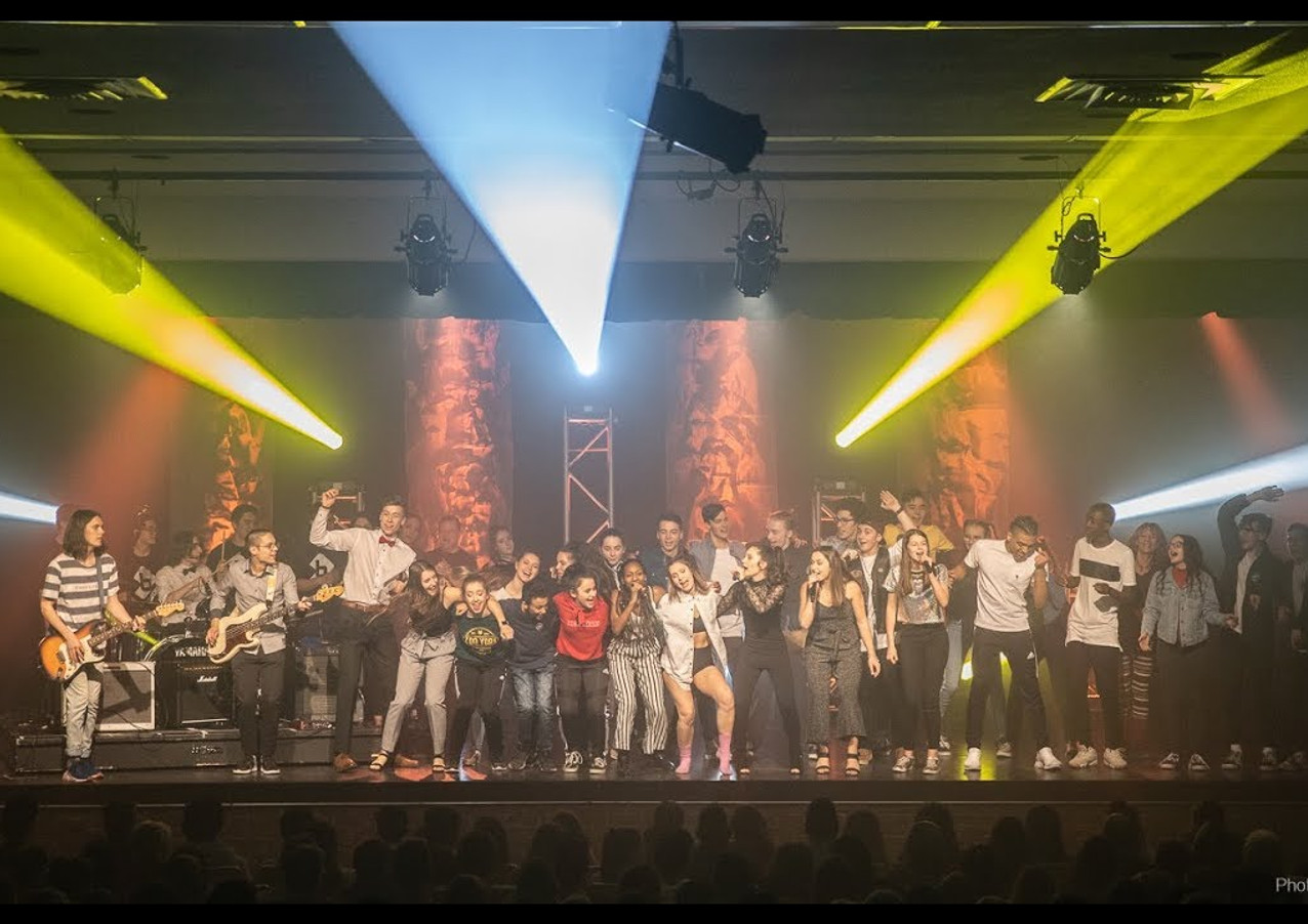 Polyramix 32 - Finale du show