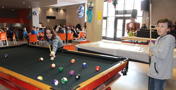 Pool, Salle multi