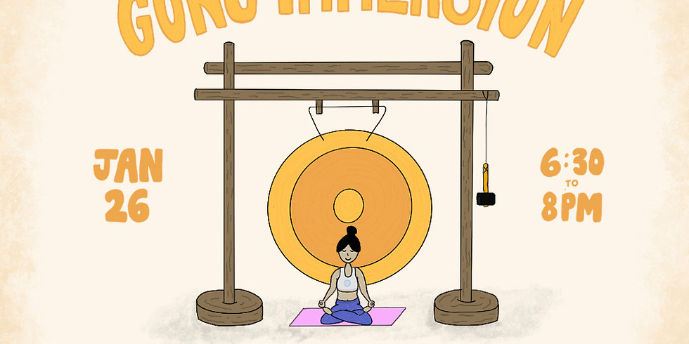 Gong Immersion with Yin & Massage led by Jacquie & Missy