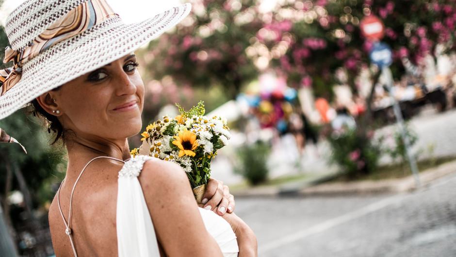 Greek Italian Wedding in Lagonisi