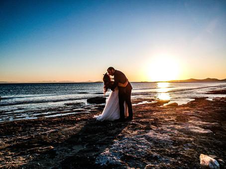 Ώρα δύσης Ηλίου για Pre-wedding και Next day