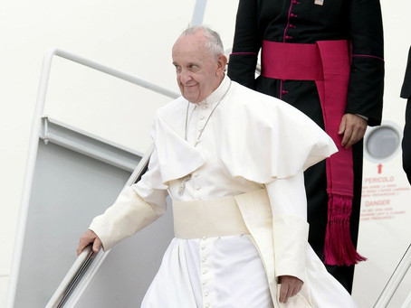POPE TELLS PARENTS 'GOD LOVES' LGBTQ KIDS 'AS THEY ARE'