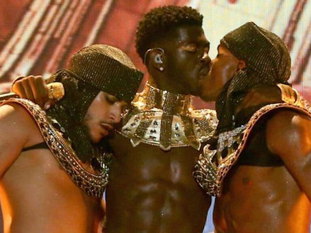 Lil Nas X Responds To Critics Of His Sex Kiss On BET Awards