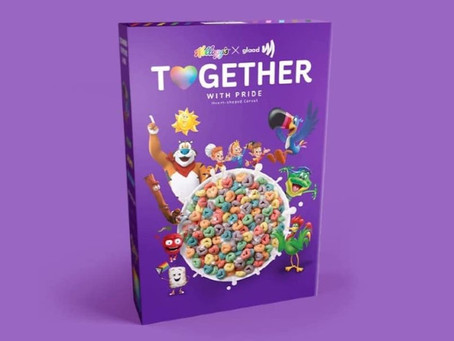 """Kelloggs launches Glittery Heart-Shaped rainbow """"Pride"""" cereal"""