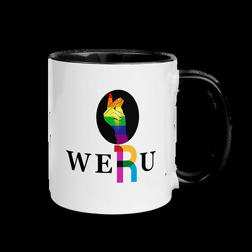 WERUradio Signature Logo Mug with Color Inside