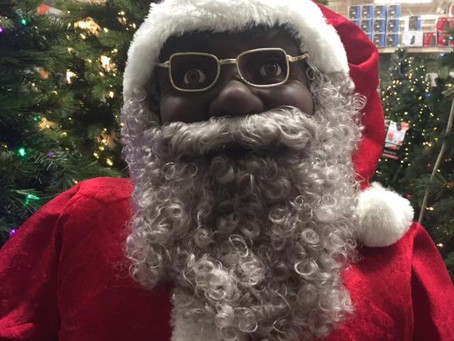 Family In Arkansas Receives Racist Letter For Their Black Santa Claus Decor
