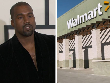 Wal-Mart Takes Legal Action Against Kanye West's Yeezy Brand