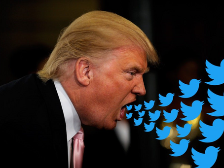 Trump On Tirade And Takes Twitter To Trial