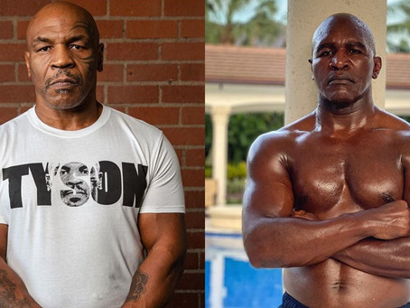 EVANDER HOLYFIELD WANTS TO CHALLENGE MIKE TYSON TO A NEW FIGHT