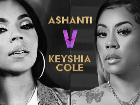 Ashanti Tests Positive for COVID-19 Ahead of 'Verzuz' Battle With Keyshia Cole