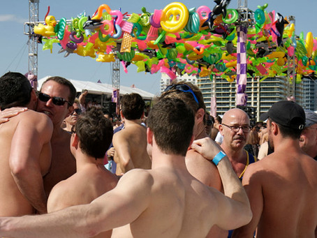 "Circuit party attendees ""outed"" for attending potential superspreader party in Mexico"