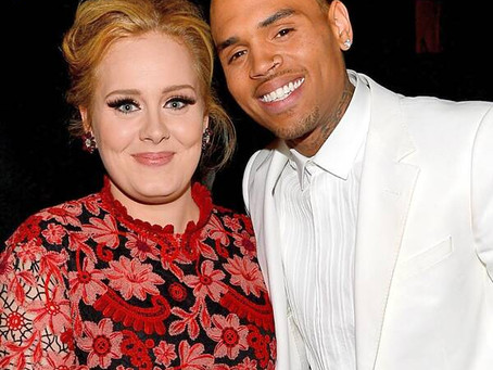 Adele And  Chris Brown Dating Rumor Put To Bed