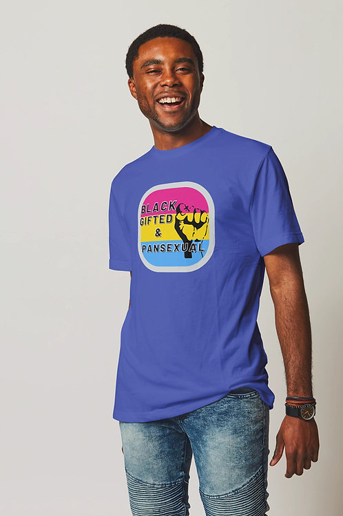 Black Gifted and Pansexual Short-Sleeve Unisex T-Shirt