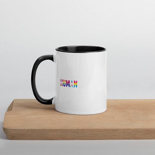 Human Mug with Color Inside