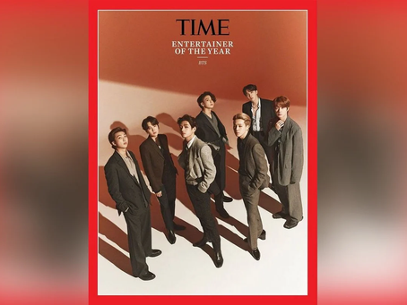 Bangtan Boys Have Been Named This Year's Brightest Entertainer By Time Magazine