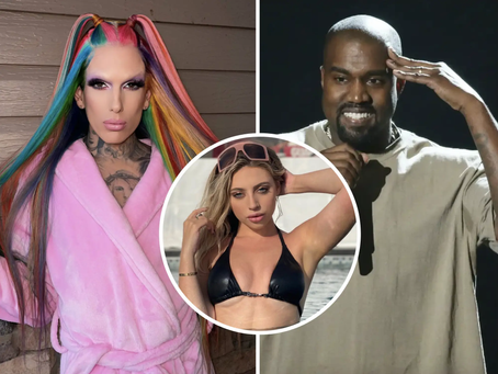Tik Tok Influencer Ava Louise says Kanye West Jeffree Star story was Hoax