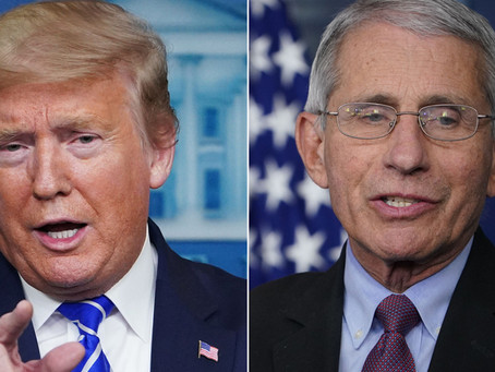 Sources Say Trump Is Fuming At Fauci's Statements