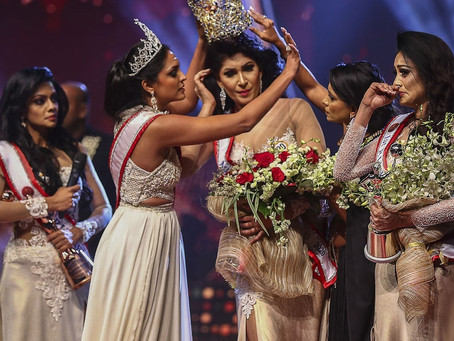 Mrs World Snatches Mrs Sri Lanka's Crown And Gets Arrested