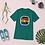 Thumbnail: Black Gifted and Gay Short sleeve t-shirt