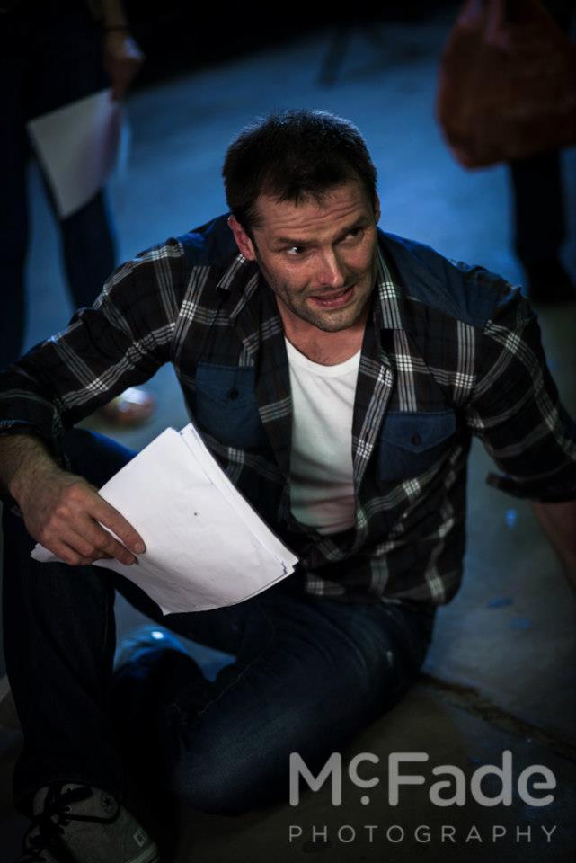 Simon Moore playing Leo