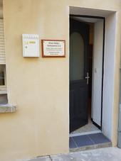L'entrée du cabinet