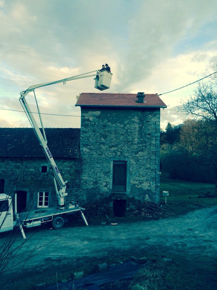 Eind Fase I: Nieuw dak