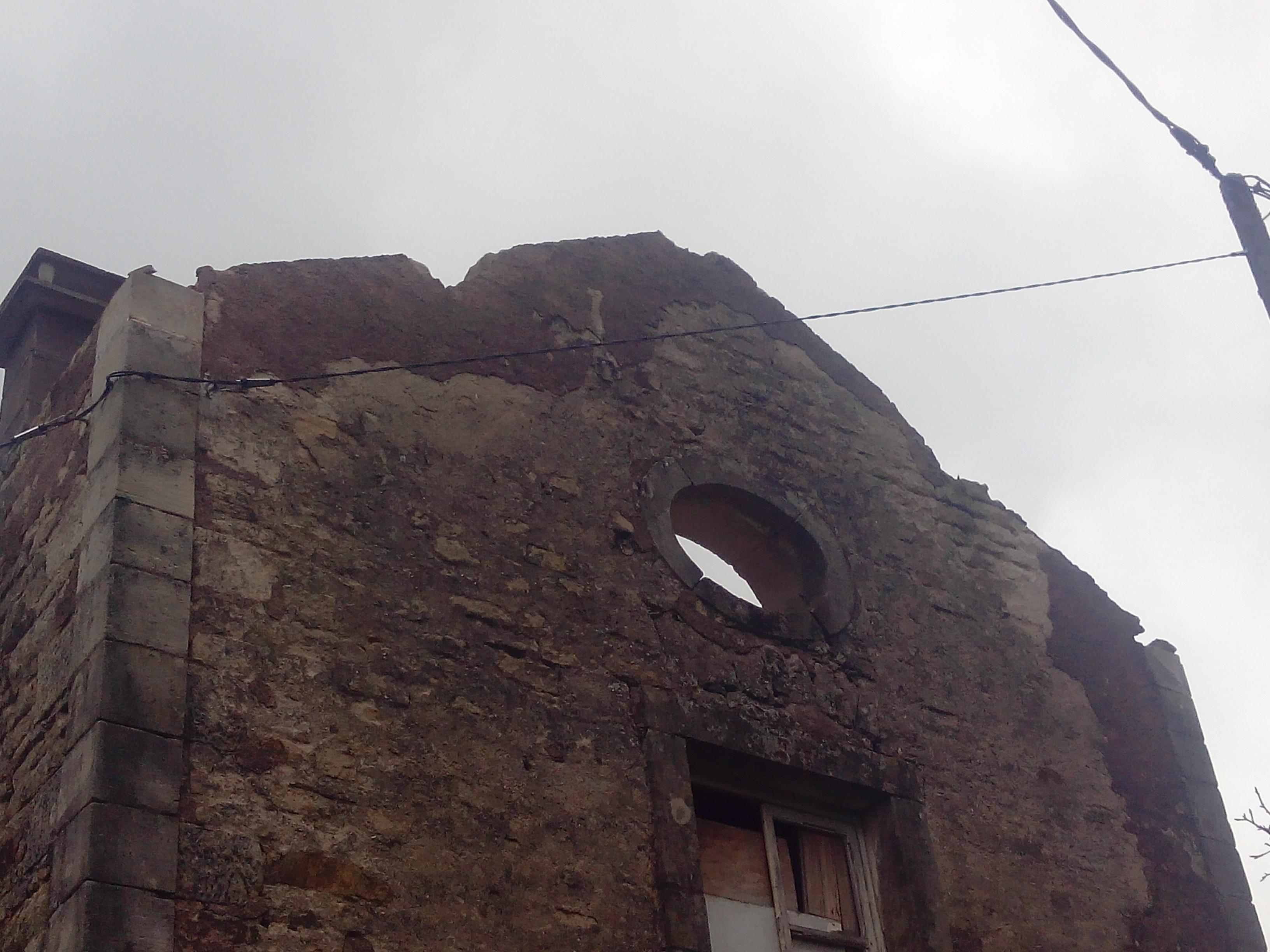Fase 1: oude dak er af...