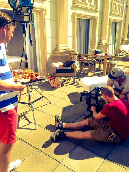 Acteur in Bedrijfsfilm voor Hotels van Oranje