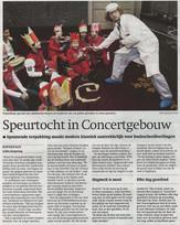 Acteur in Het Concertgebouw Amsterdam