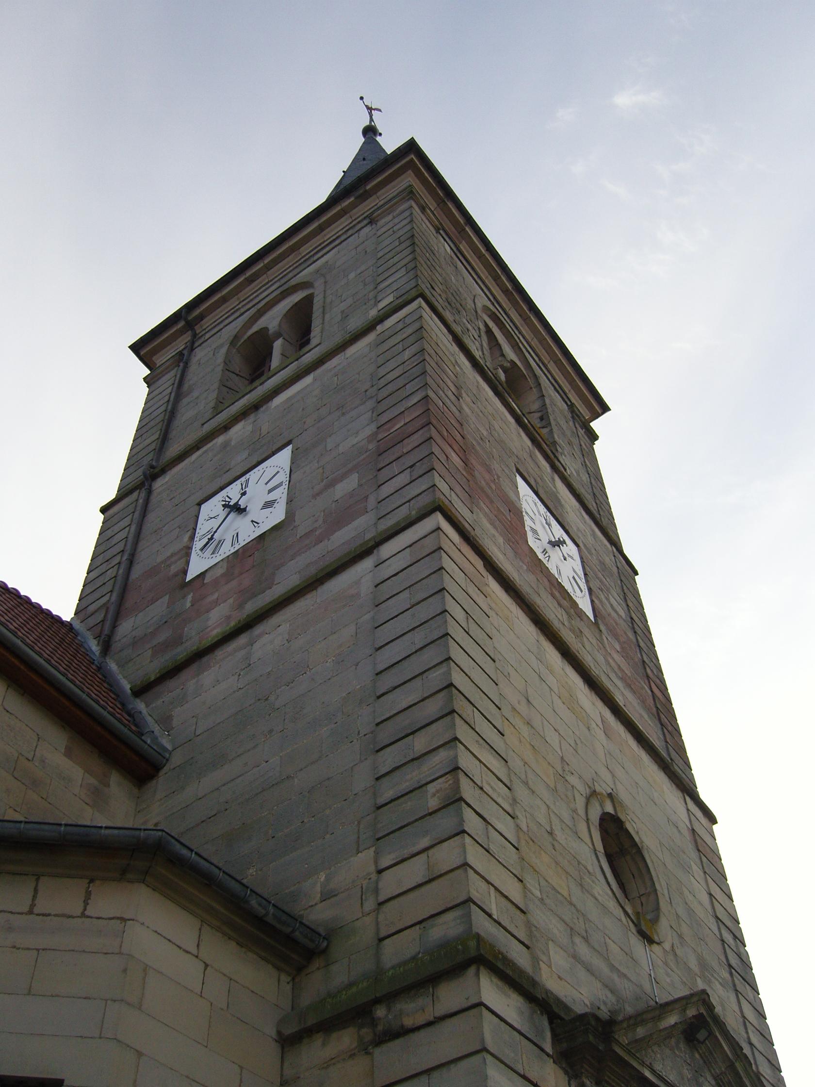 Kerktoren van Bains-les-Bains