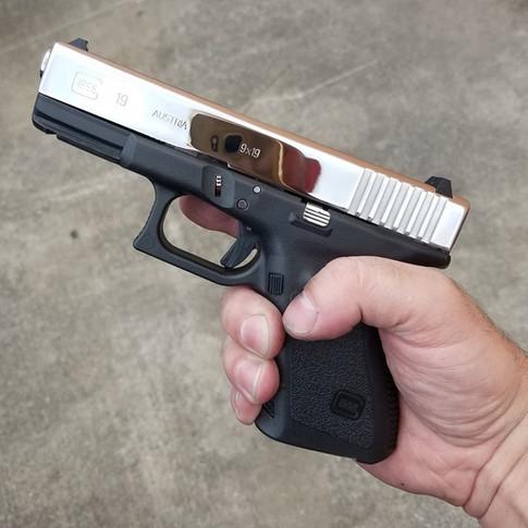Mirror Polished Glock 19 Slide