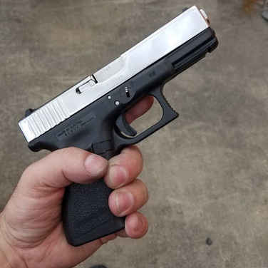 Chrome Polished Glock Slide