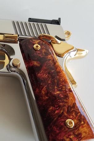 24k Gold Firearm Plating