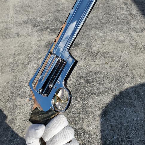 Mirror Polished Taurus Raging Judge