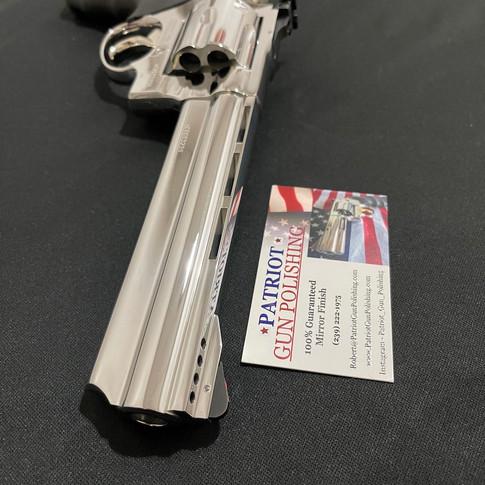 Bright Polished Taurus .44 Magnum