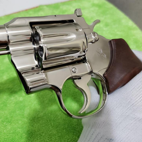 AFTER: Mirror Polished Colt 357