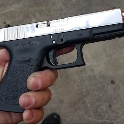 9mm Glock Mirror Finish