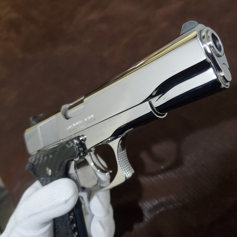 AFTER: Bright Stainless Colt Double Eagle 10 mm