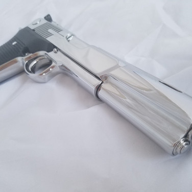 Bright Stainless AMT Automag V
